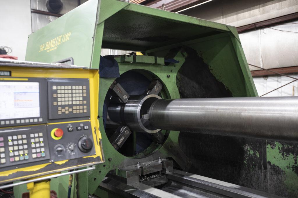 A precise machine at Spuncast.