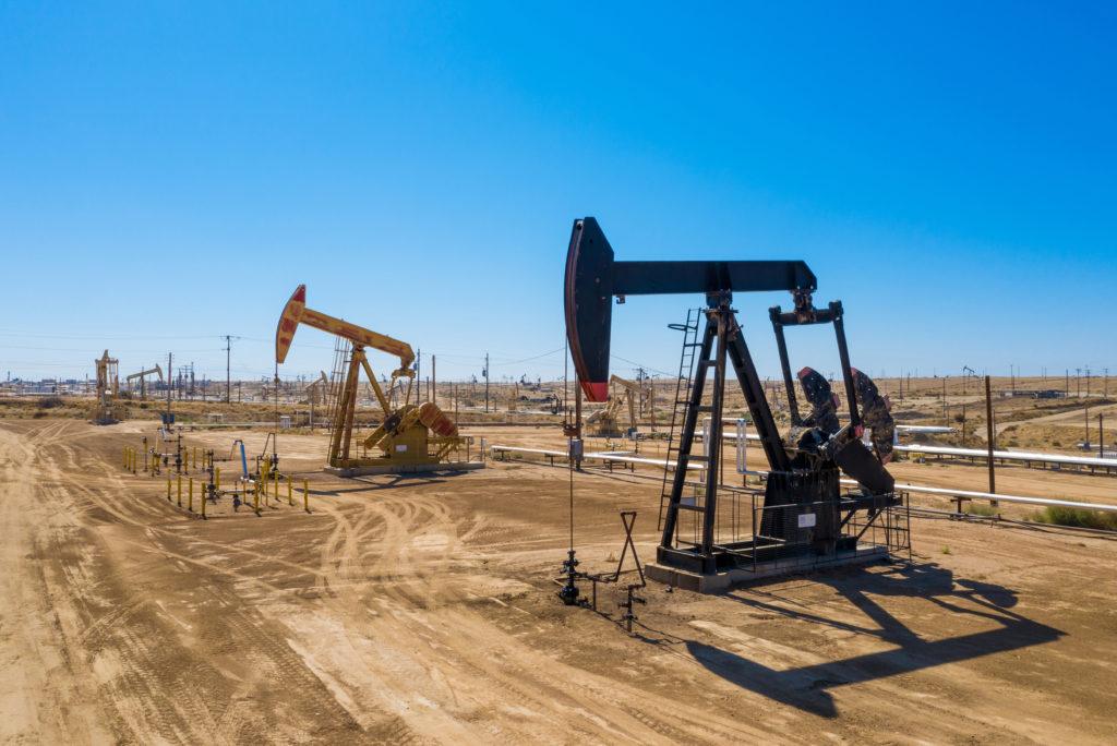 An oil pump.
